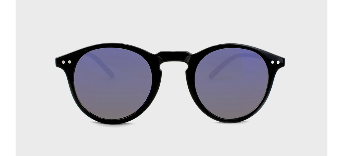 Men's Round Sunglasses with Smoke Lenses - Goodfellow & Co™