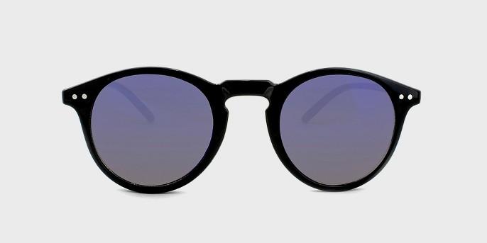 Men's Round Sunglasses with Smoke Lenses - Goodfellow & Co™