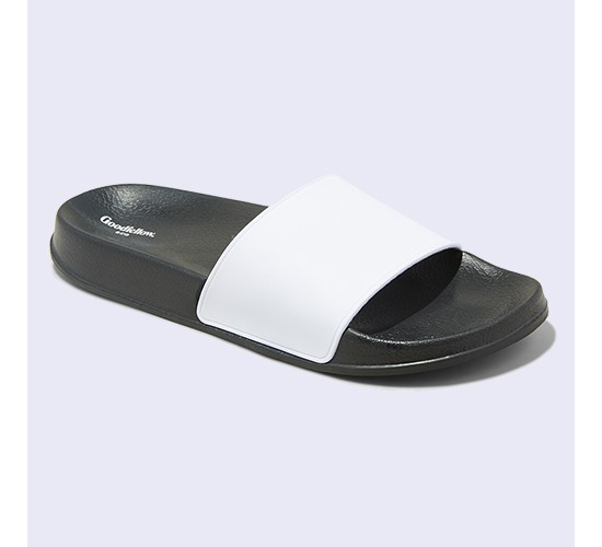 Men's Rickey Slide Sandals - Goodfellow & Co™ White