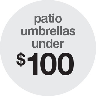 ... Patio Umbrellas Under $100