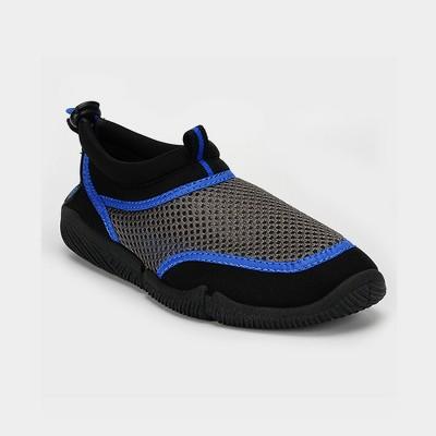 Lifeguard Boys Blue /& Black Activity Shoe Grip Socks Aqua Shoe Sz 11//12 Outdoor Shoe Water Shoe