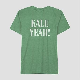 Well Worn Men's Kale Yeah Short Sleeve T-Shirt - Kickin Green