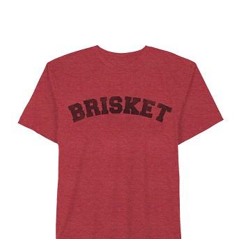 Men's Short Sleeve Brisket Graphic T - Shirt - Awake Red